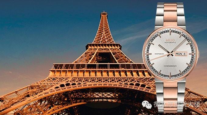 表—以巴黎埃菲尔铁塔为